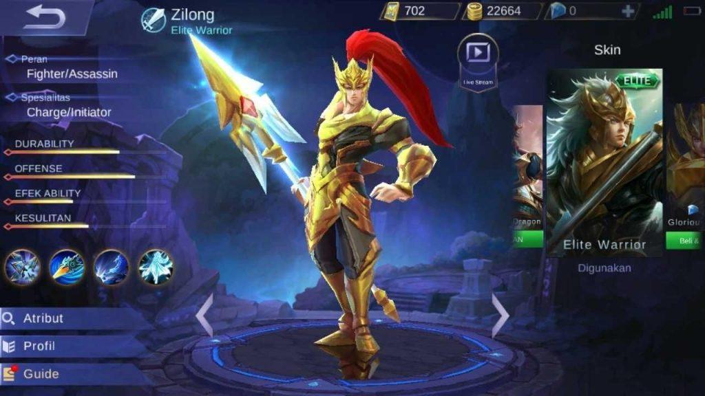 Tips Zilong