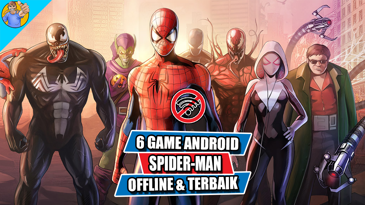 6 Game Android Spider-Man Offline Terbaik | Momoy Android ...